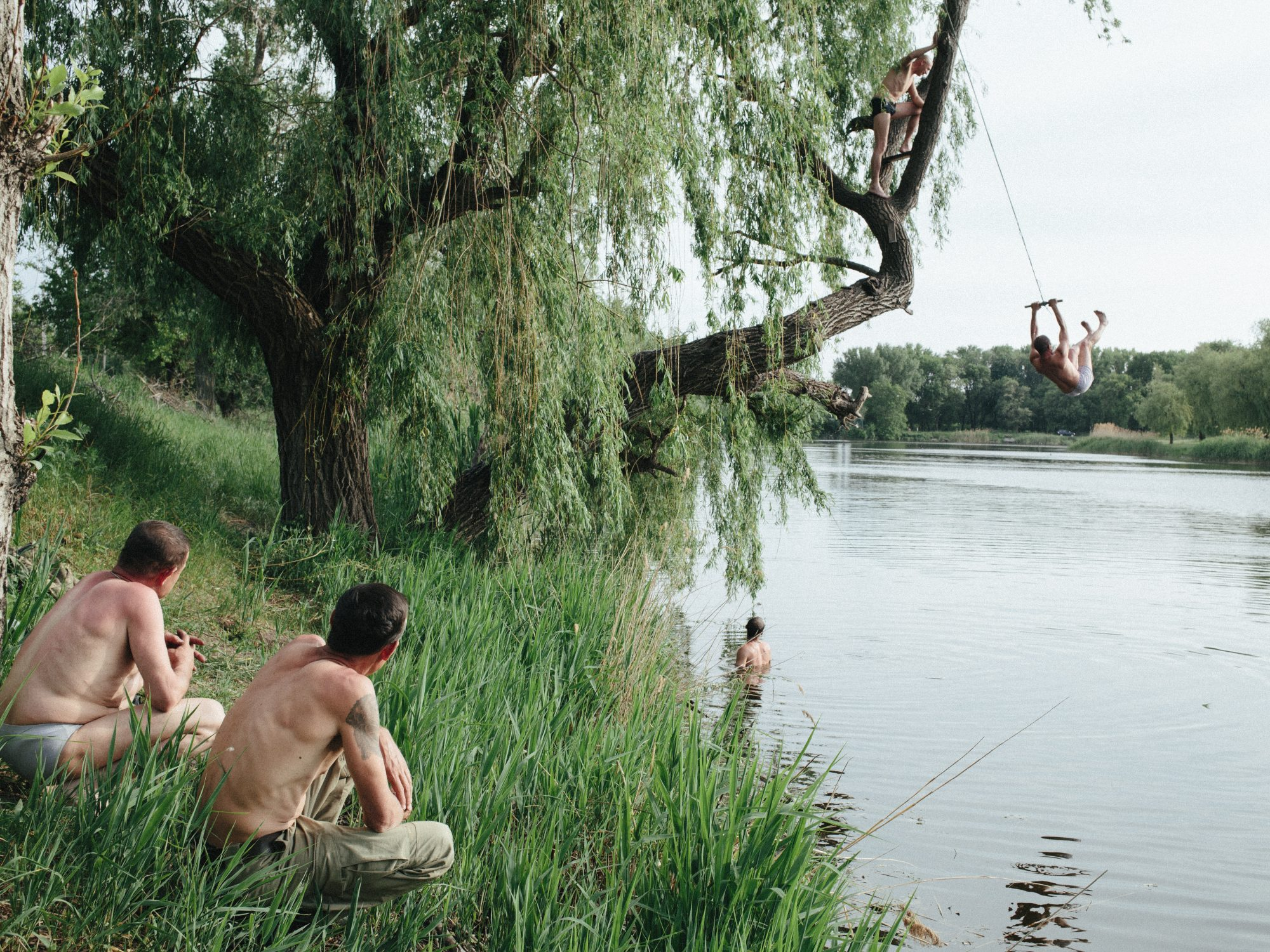 From the exhibition Borderland: Stories from Donbas © Christopher Nunn