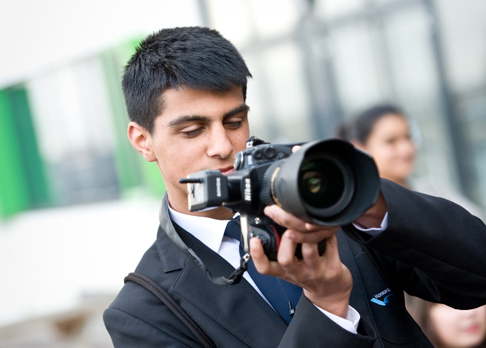 Pupil with camera