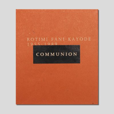 Communion by rotimi fani-kayode