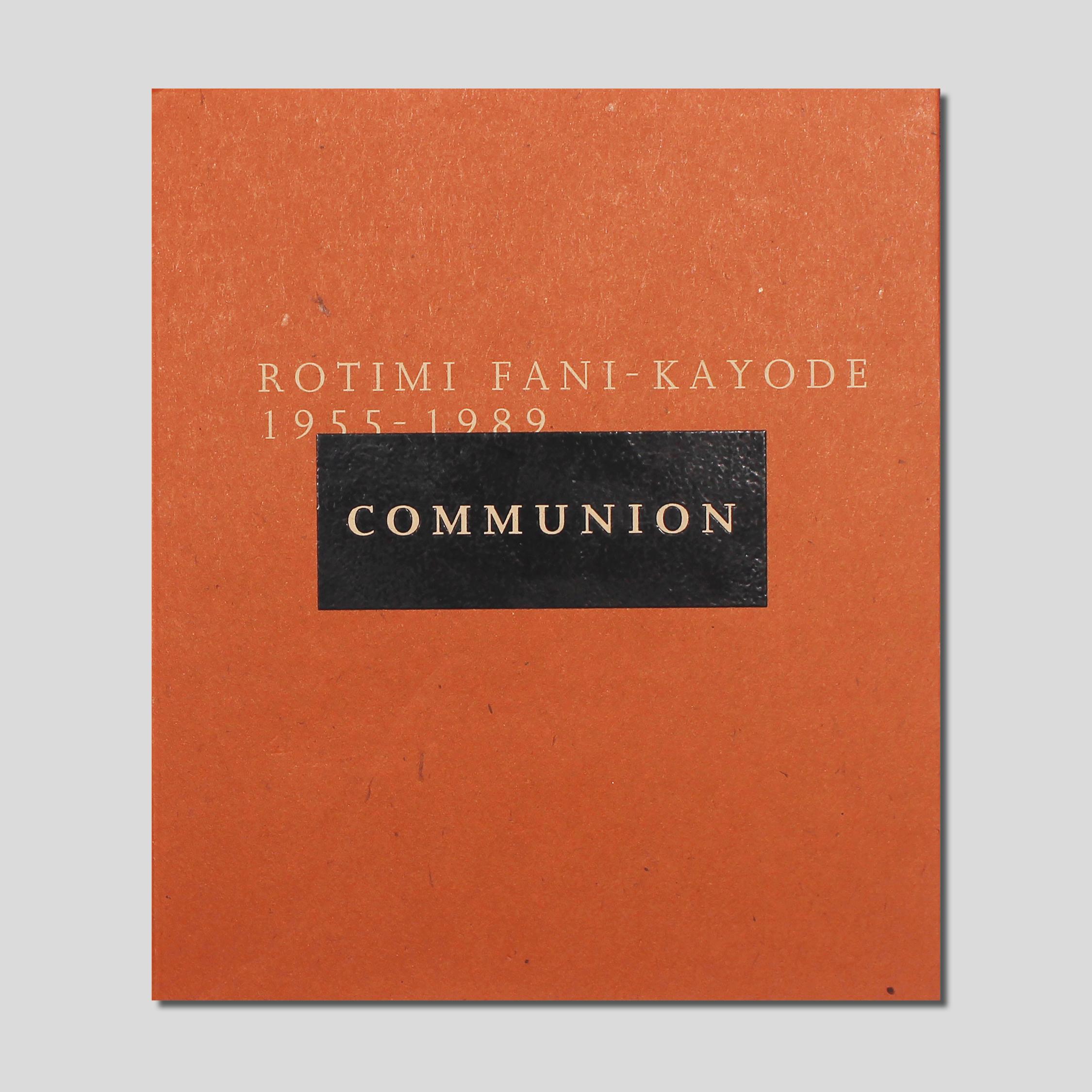 Communion by rotimi fani-kayode