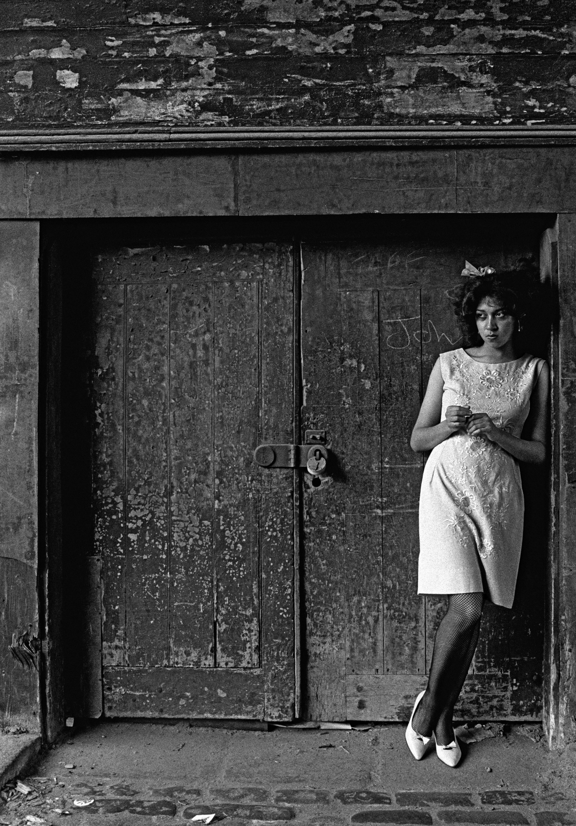Hackney, East London 1980 by Syd Shelton