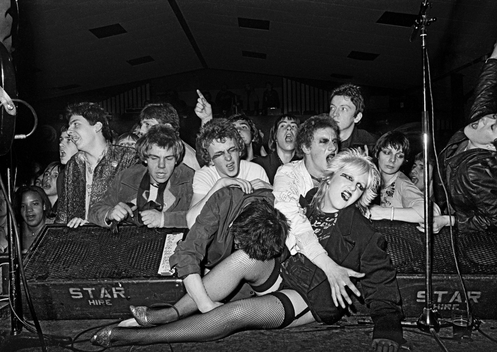 Militant Entertainment Tour, West Runton Pavilion, Cromer, Norfolk 1979 by Syd Shelton