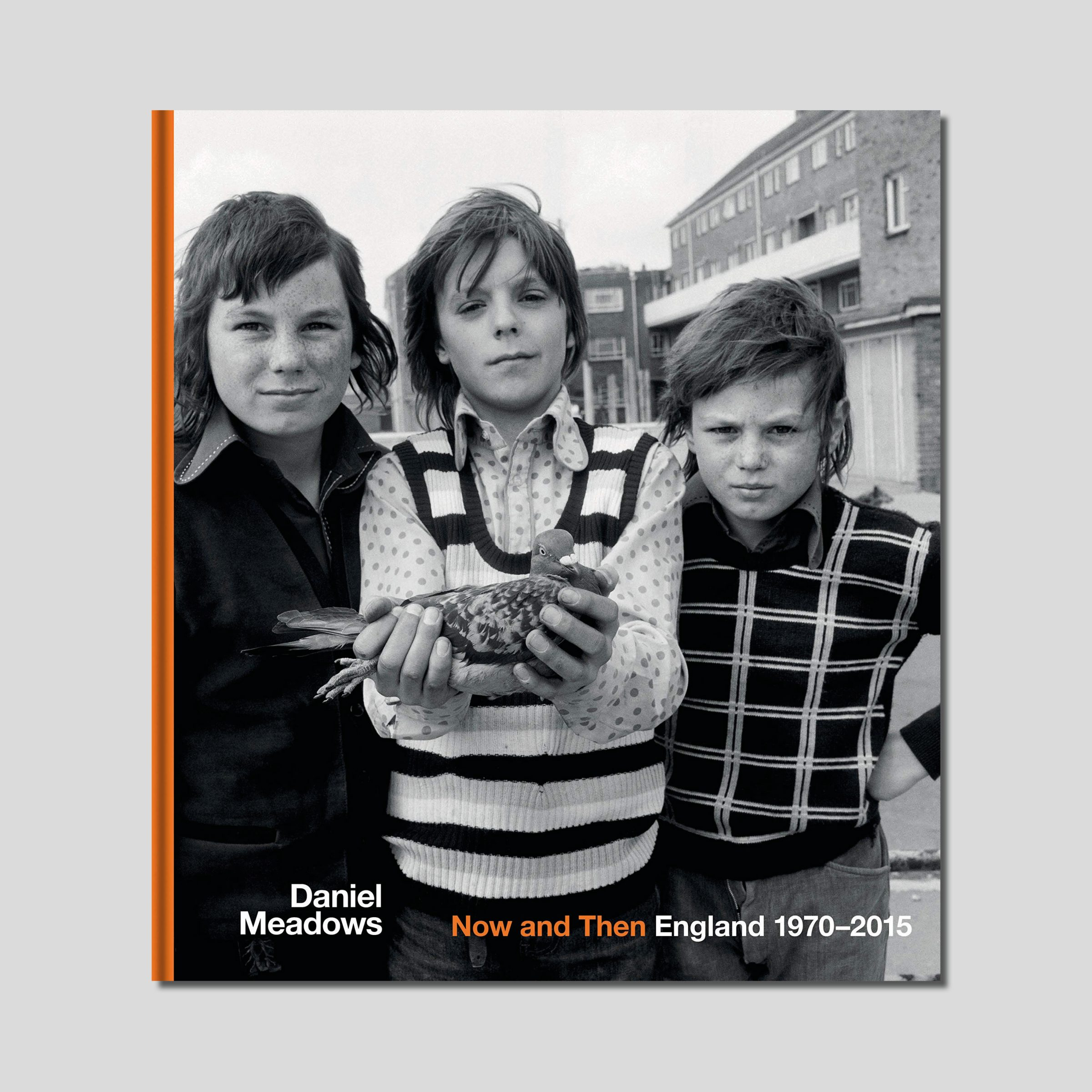 Photobook of Daniel Medows Now and Then: England 1970 - 2015