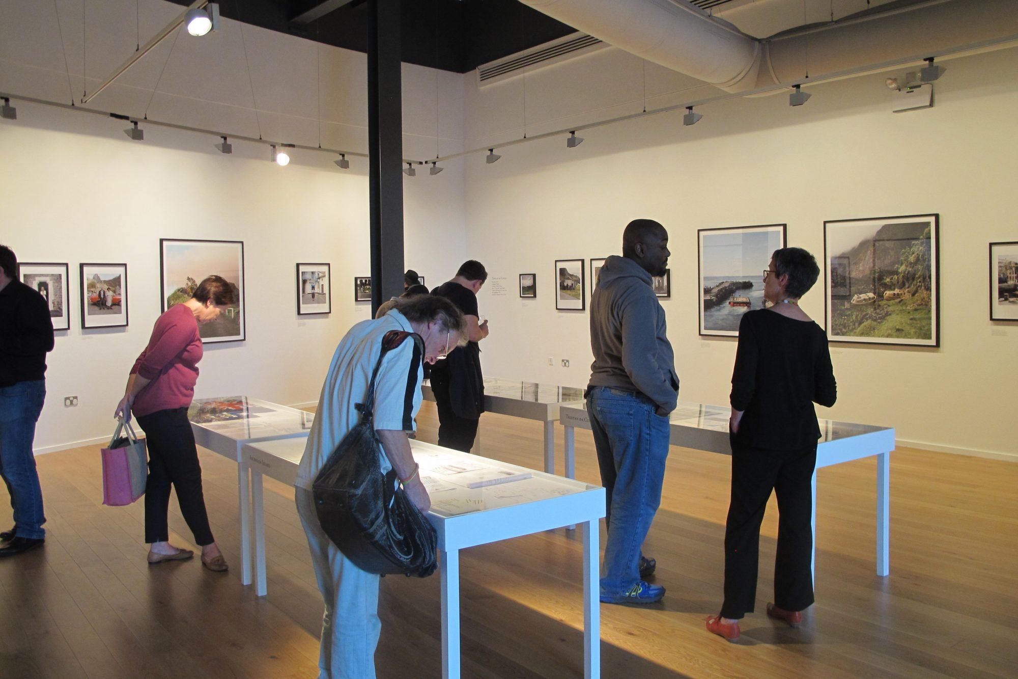 Jon Tonks exhibition opening