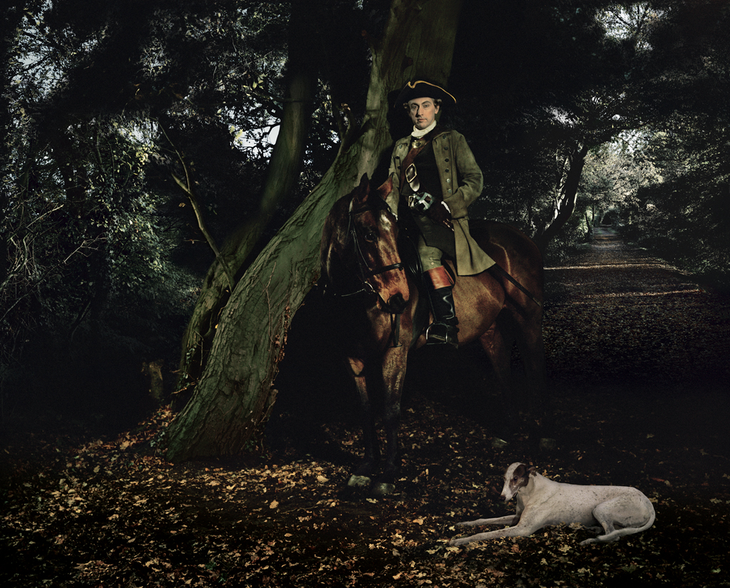 Tableaux image of Thomas Paine, 1772 by Red Saunders