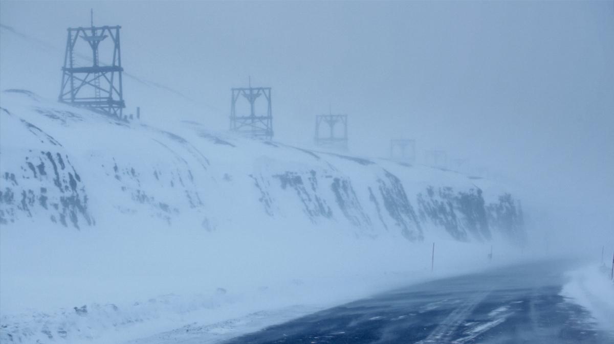 Still from Prosperous Mountain (2013), single screen film installation, 15 mins © Heidi Morstang