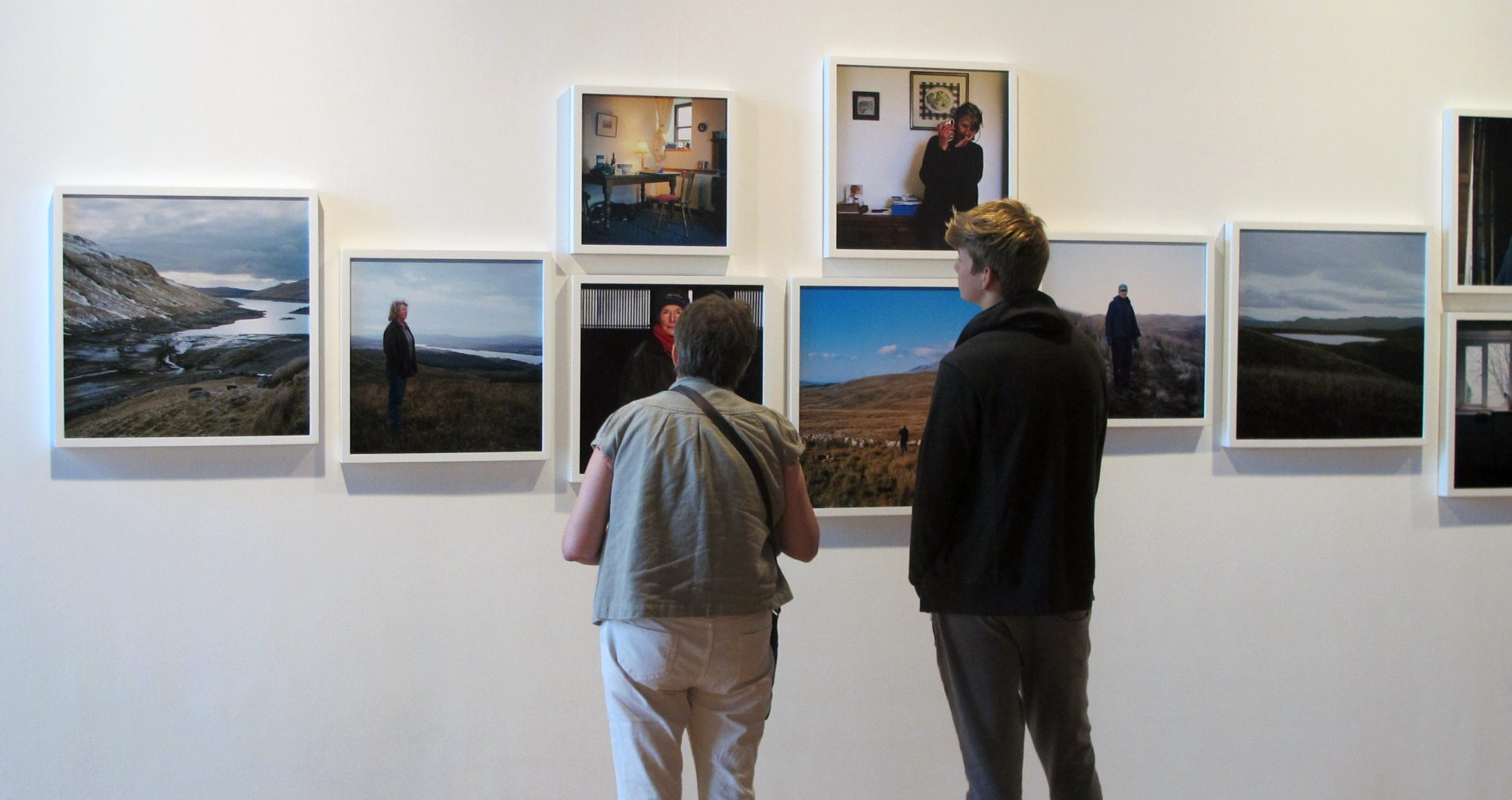 Installation view of Beyond the Border 2