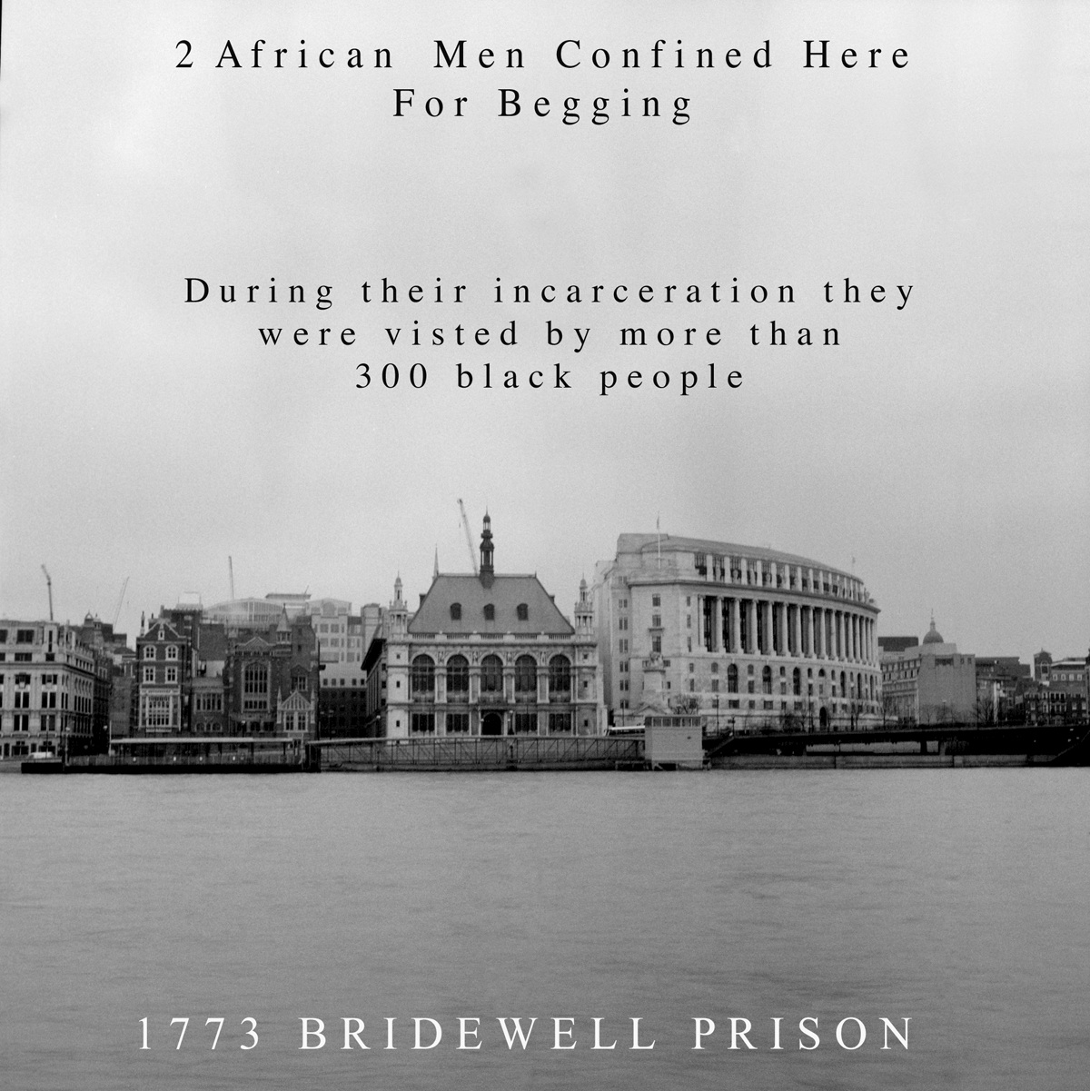Bridewell Prison from Sites of Africa © Joy Gregory
