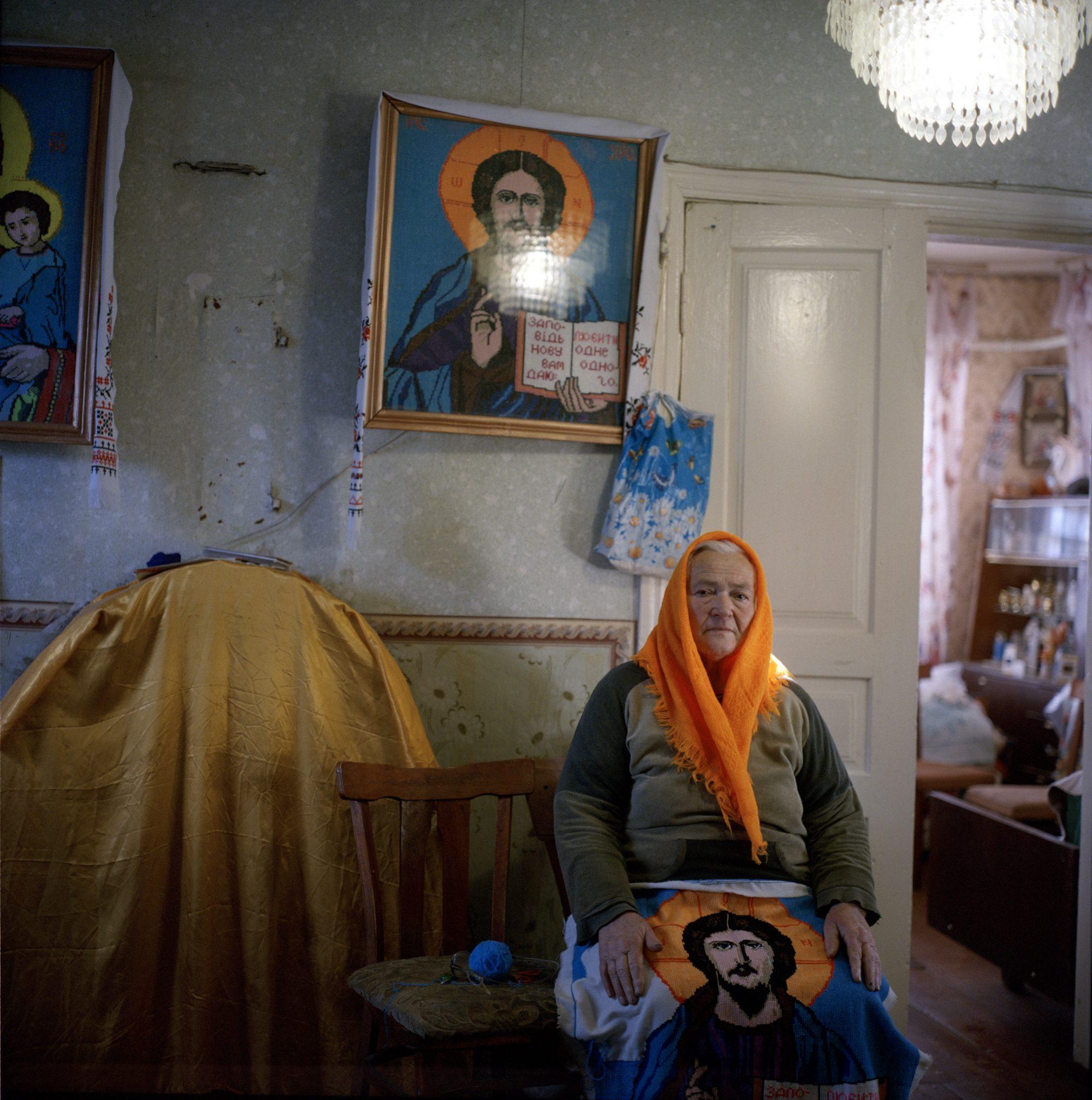 Elderly woman © Rena Effendi/Prince Claus Fund/INSTITUTE