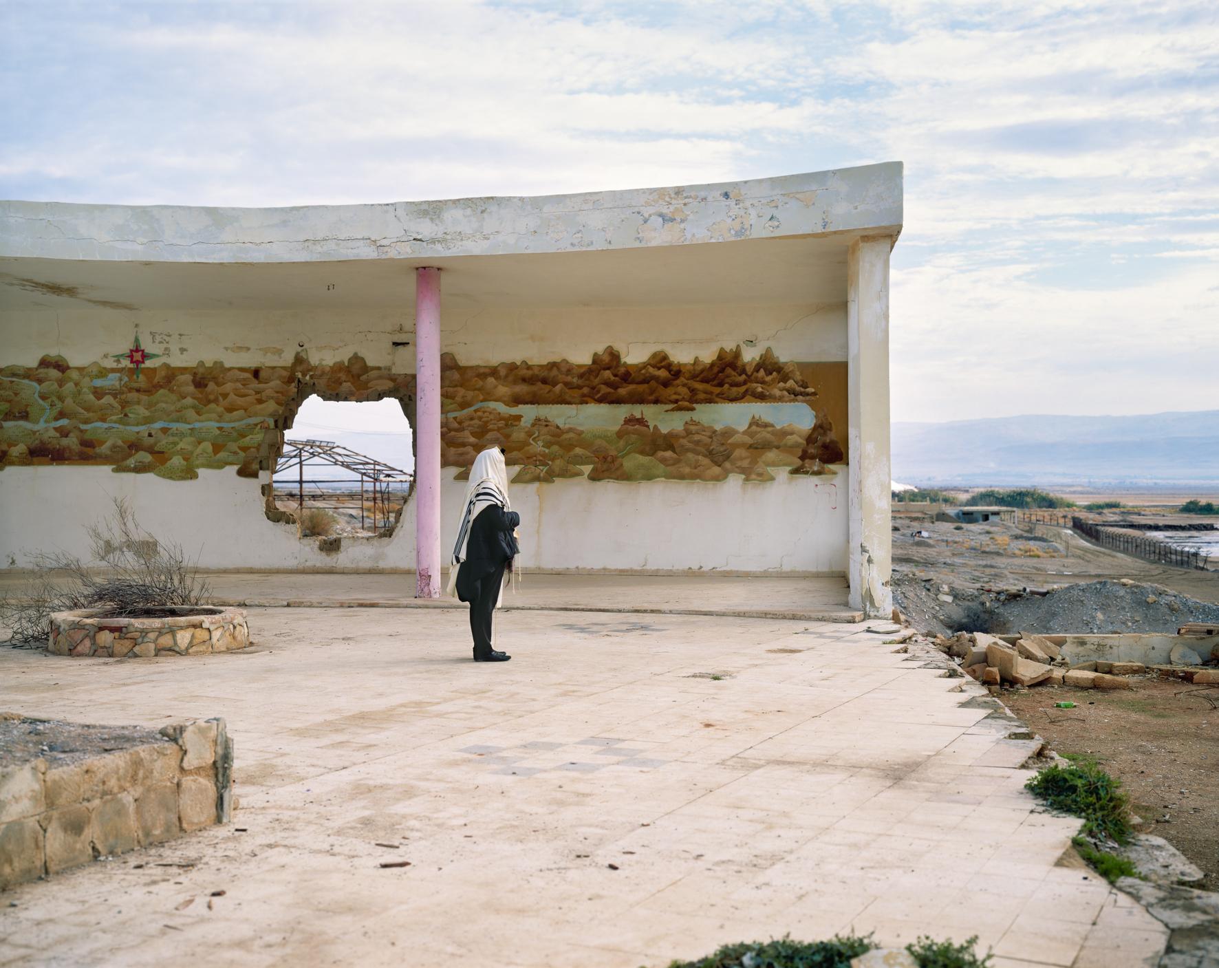 Morning Prayer, The Dead Sea Hilton, 2006. © Yaakov Israel
