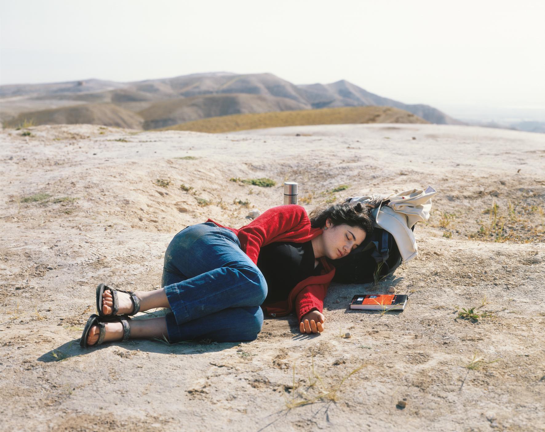 Nili asleep, Nebi Musa, 2010. © Yaakov Israel