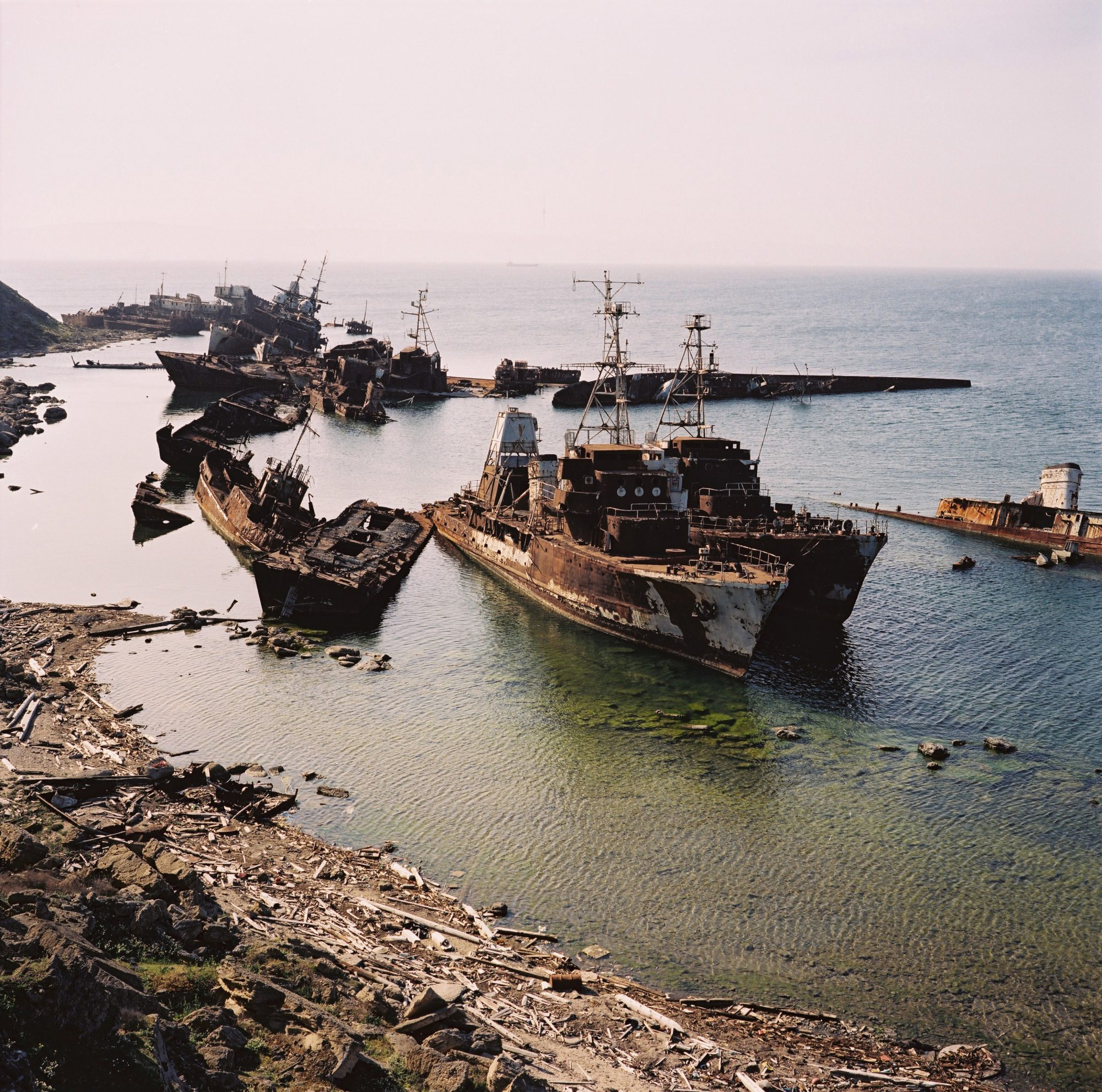 Ship cemetery © Rena Effendi/Prince Claus Fund/INSTITUTE
