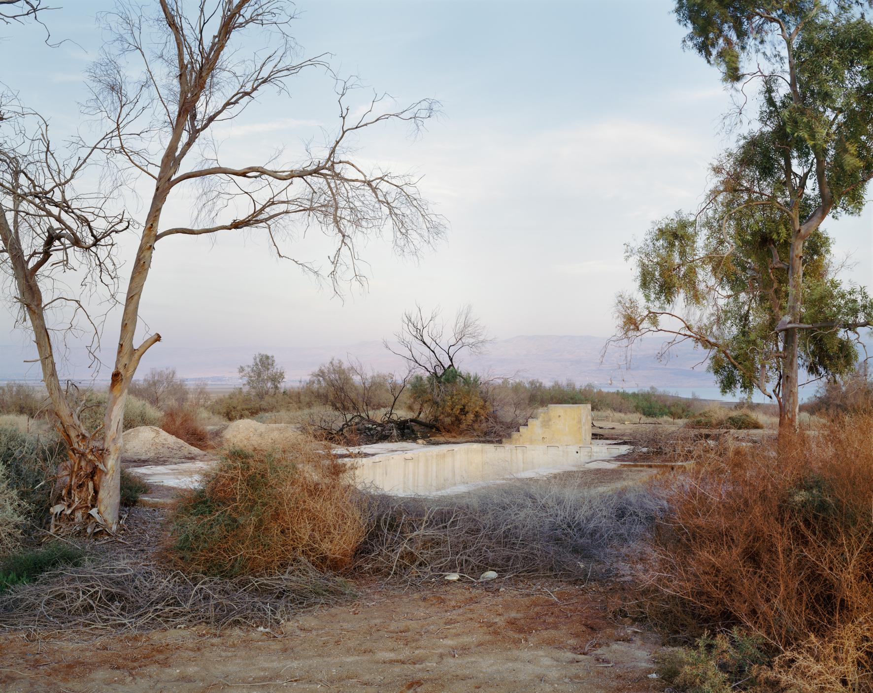 Swimming Pool, Northern Judean Desert, 2011. © Yaakov Israel