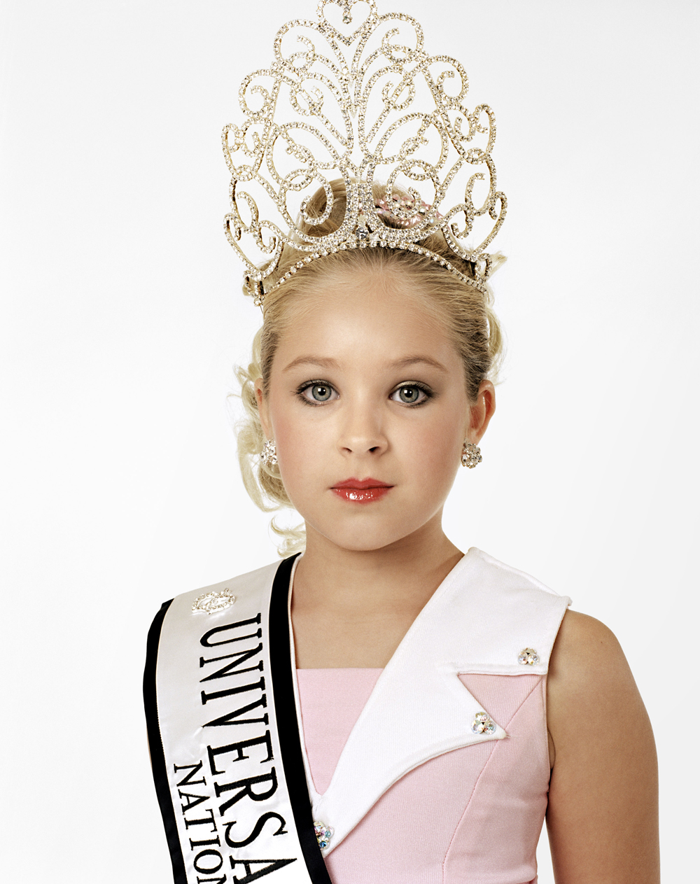 Katie, age 9. Winner. Universal Royalty Texas State Pageant. Texas, USA