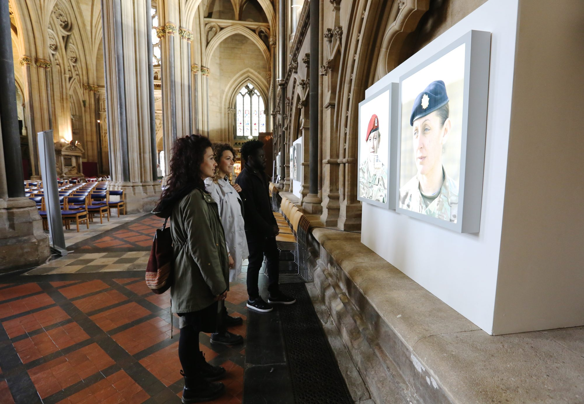 No Man's Land: Women's Photography and the First World War at Bristol Cathedral © Anna Barclay