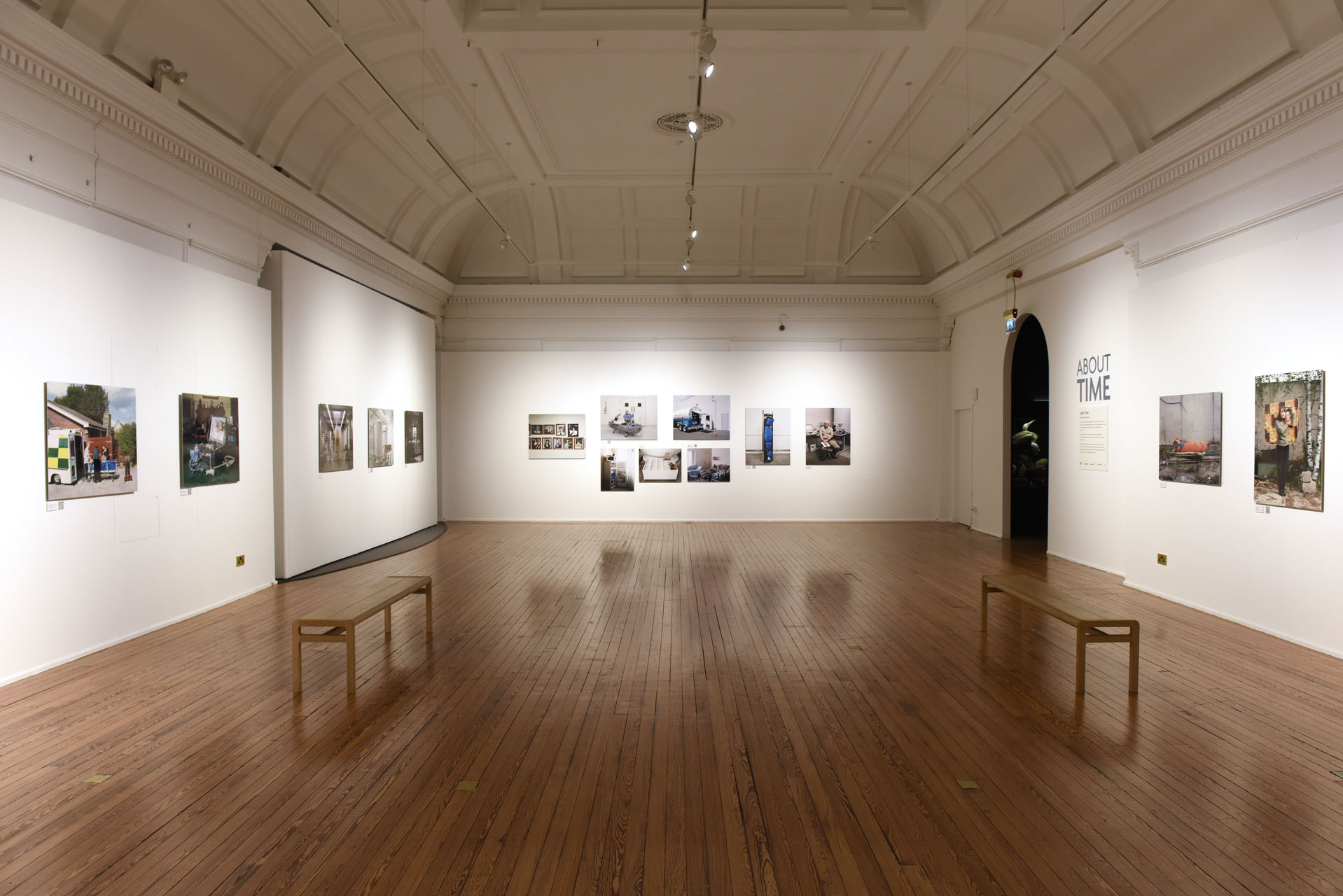 Installation of A Prospect of Immortality by Murray Ballard at The Disk Institute Kilmarnock © Mike Scott