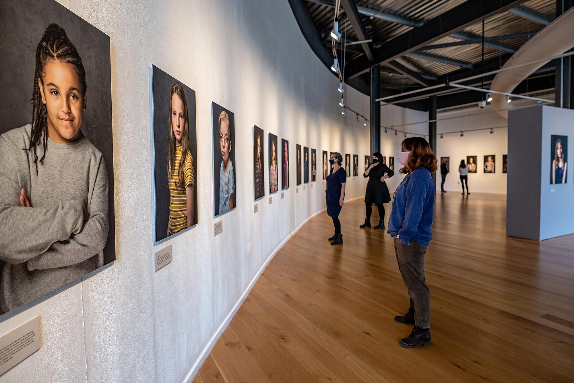 Being Inbetween by Carolyn Mendelsohn at Impressions Gallery © Karol Wyszynski