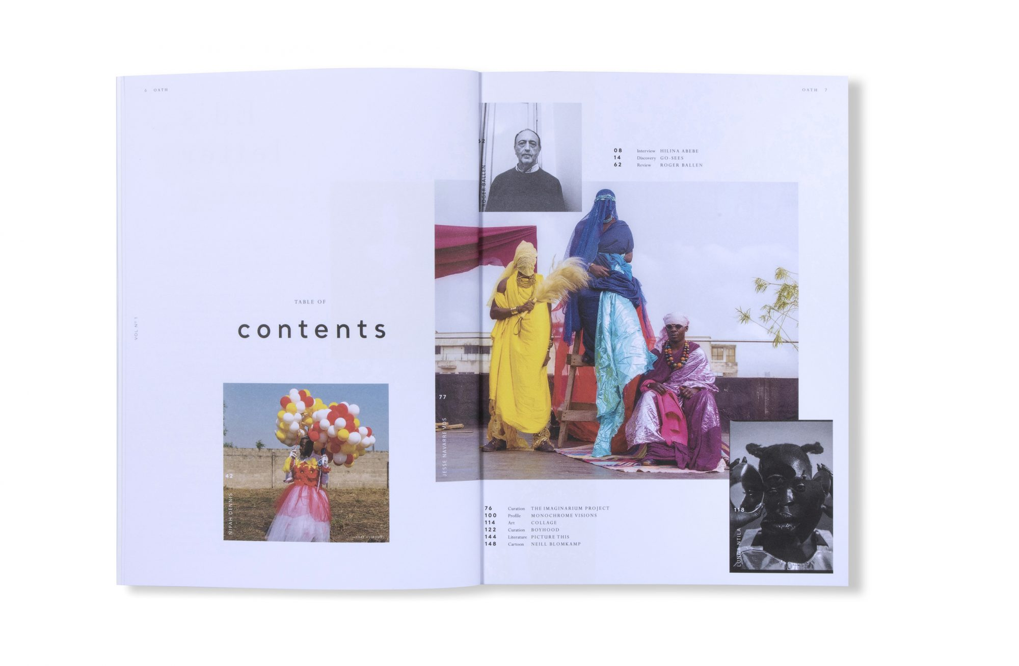 BITESIZE BOOKFAIR: Mimi Aborowa, ìrìn journal, and Stephanie Blomkamp, Oath magazine — Impressions Gallery