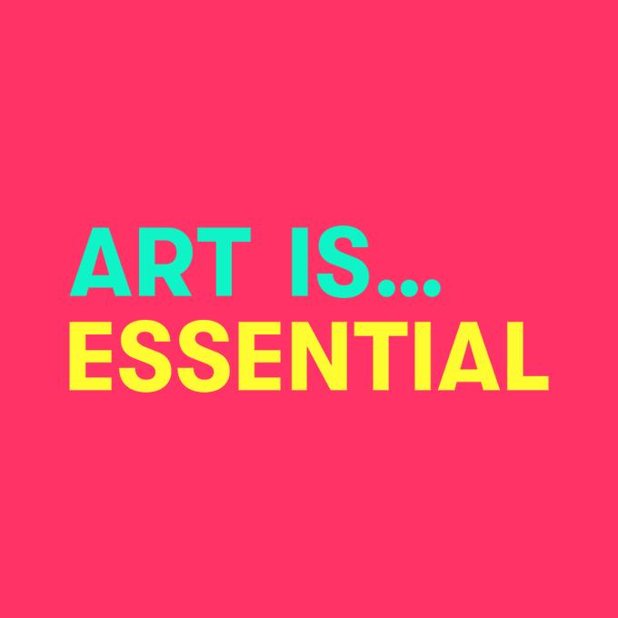 #ArtIsEssential
